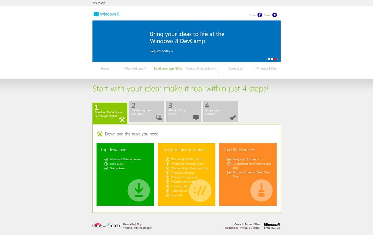 Windows 8 Campaign - Just 4 Steps