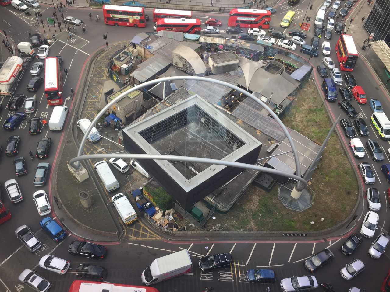 The Silicon Roundabout (all the time, not just in rush hour)