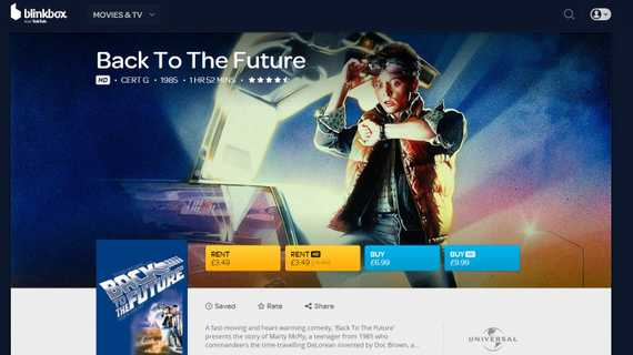 blinkbox product page