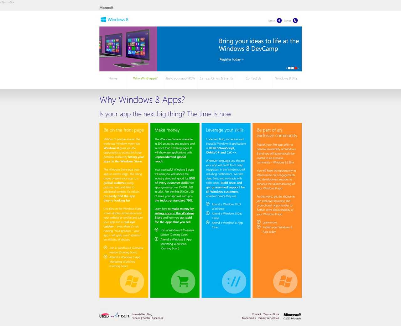 Windows 8 Campaign - Why Windows 8 Apps