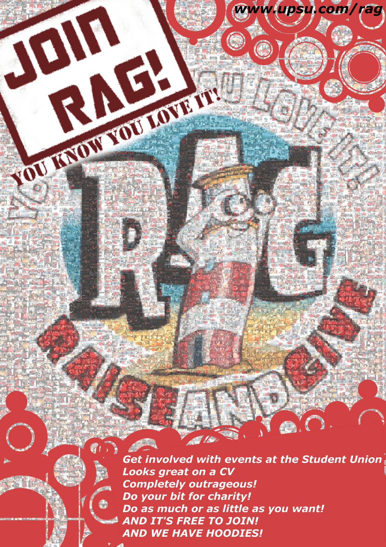 RAG Sign Up Poster